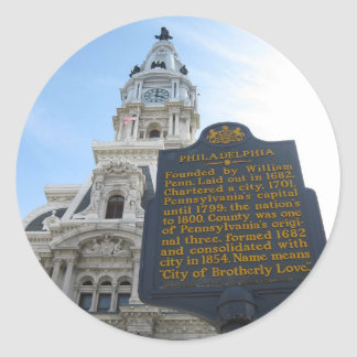 Philadelphia City Hall Sticker