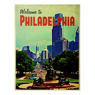 Philadelphia Cityscape Postcard