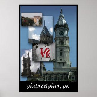 Philadelphia - Cityscape Print