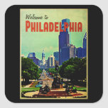 Philadelphia Cityscape Sticker