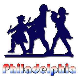Philadelphia colonial adorno fotoescultura