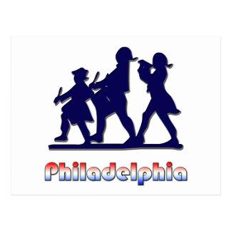 Philadelphia colonial postales