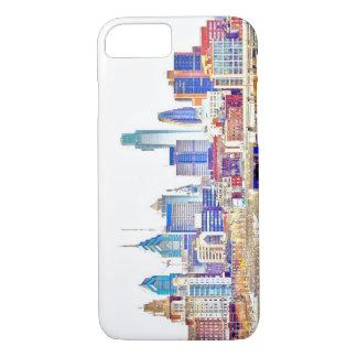 Philadelphia Color Sketch iPhone 7 Case