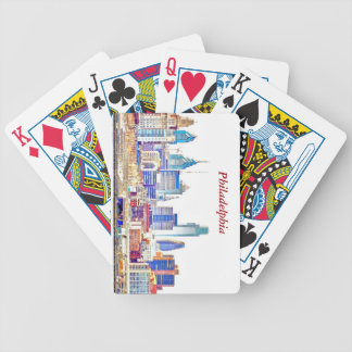 Philadelphia Color Sketch Playing Cards
