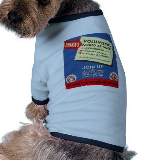 Philadelphia Council Of Defense  Join now - Pet Shirt