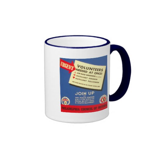 Philadelphia Council Of Defense  Join now - Mugs
