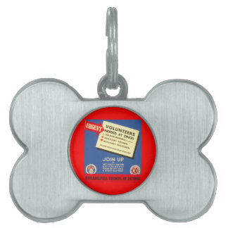 Philadelphia Council Of Defense  Join now - Pet Tag