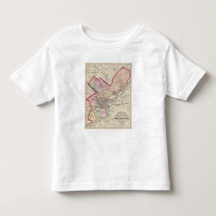 Philadelphia County, City Toddler T-shirt