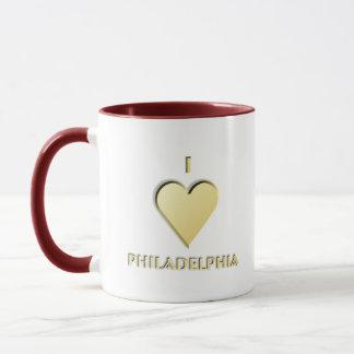 Philadelphia -- Cream Mug