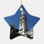 Philadelphia Adorno De Cerámica En Forma De Estrella