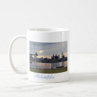 Philadelphia Delaware River Sunset Coffee Mug