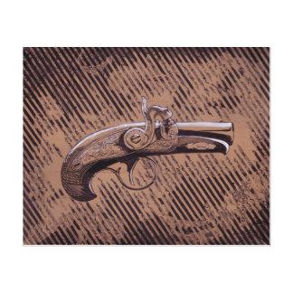 Philadelphia Derringer pistol Canvas Print
