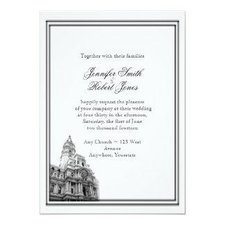 Philadelphia Destination Wedding Invitation