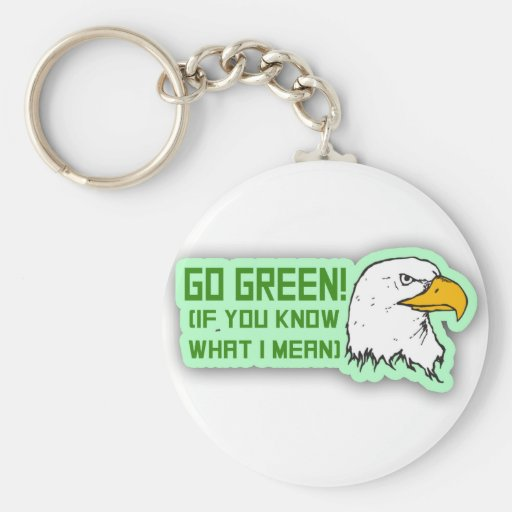 Philadelphia Eagles Go Green Key Chains
