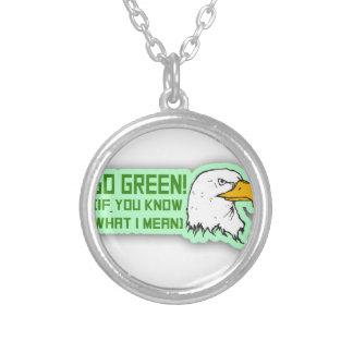 Philadelphia Eagles Go Green Necklace