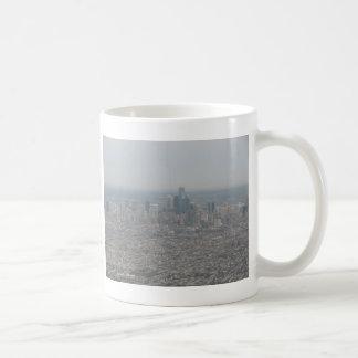Philadelphia en 30.000 pies taza de café