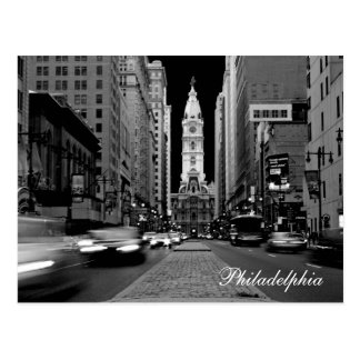 Philadelphia en la postal de la noche