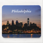 Philadelphia en Mousepad crepuscular Alfombrilla De Raton