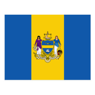Philadelphia Flag Postcard