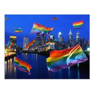 Philadelphia Flying Pride Post Card