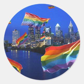 Philadelphia Flying Pride Sticker