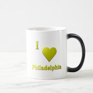 Philadelphia -- Gold Magic Mug