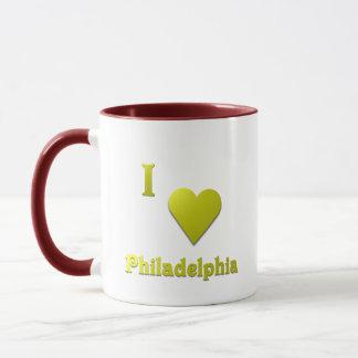 Philadelphia -- Gold Mug
