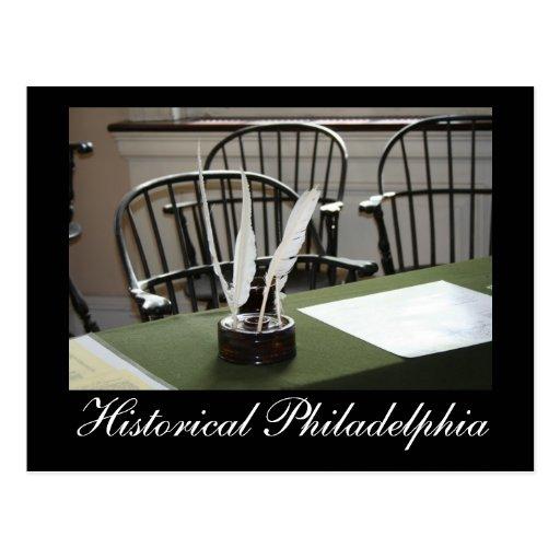 Philadelphia histórica tarjeta postal