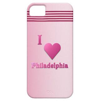 Philadelphia -- Hot Pink iPhone SE/5/5s Case