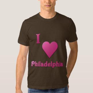 Philadelphia -- Hot Pink T Shirt