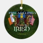 Philadelphia Irish Pride Christmas Ornament