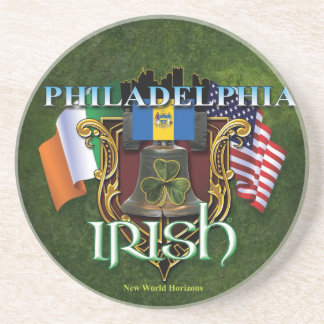 Philadelphia Irish Pride Beverage Coasters
