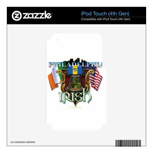 Philadelphia Irish Pride Decals For iPod Touch 4G