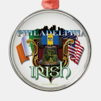 Philadelphia Irish Pride Metal Ornament