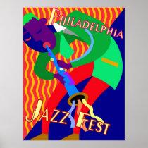 Philadelphia Jazz Fest posters
