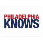 Philadelphia Knows Postcard