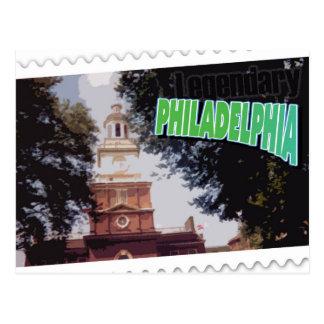 Philadelphia legendaria PA postal