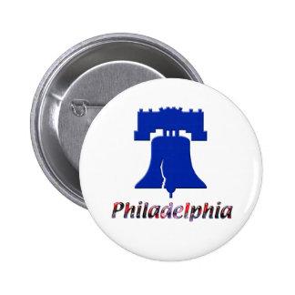 Philadelphia Liberty Bell Pinback Button