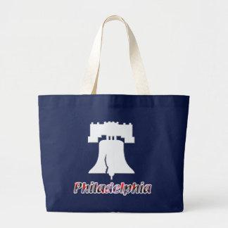 Philadelphia Liberty Bell Large Tote Bag