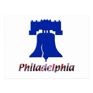 Philadelphia Liberty Bell Tarjeta Postal