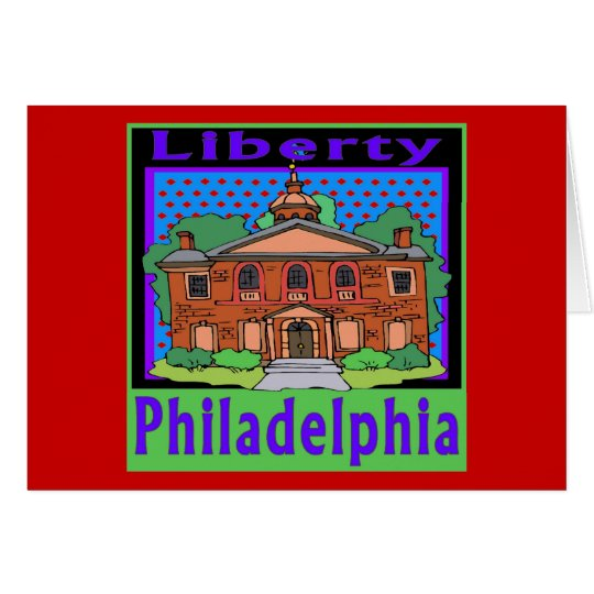 Philadelphia Liberty Card
