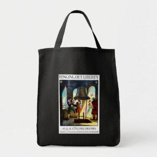 Philadelphia Liberty on The Pennsylvania Railroad Tote Bag