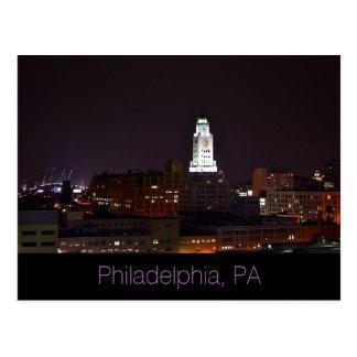 Philadelphia, luna Postal-Llena del PA Tarjeta Postal