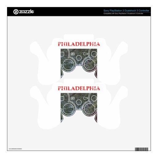 Philadelphia Mando PS3 Calcomanía
