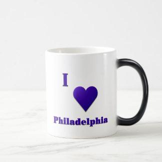 Philadelphia -- Midnight Blue Magic Mug