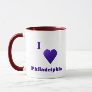 Philadelphia -- Midnight Blue Mug