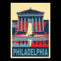 Philadelphia Museum in Blue invitations