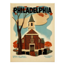 Philadelphia Old Swedes Church - WPA