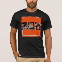 Philadelphia Orange Square T-Shirt
