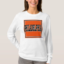 Philadelphia Orange Square T-Shirt